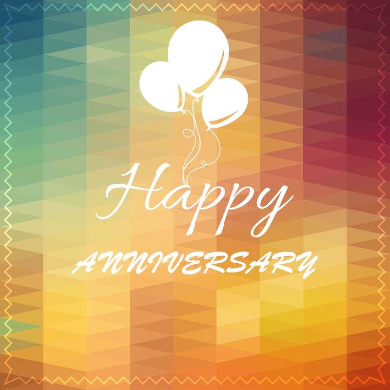 orange happy anniversary