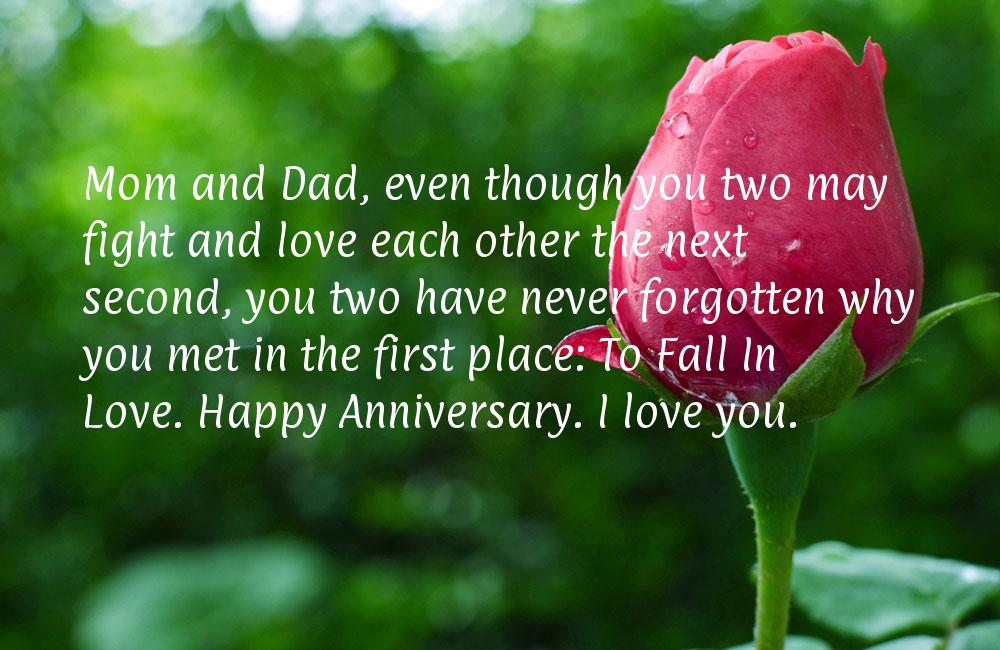 Funny Anniversary Quotes For Parents QuotesGram