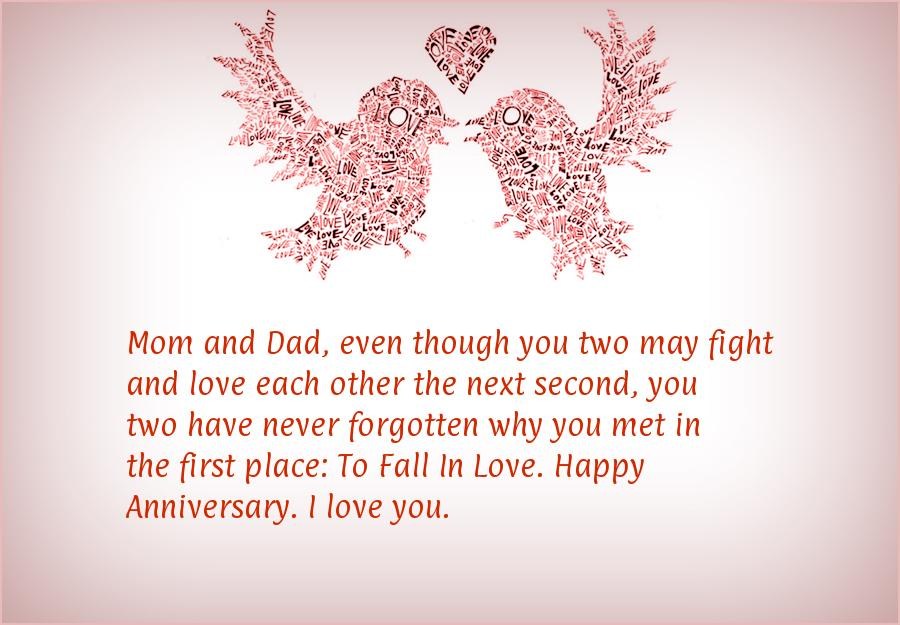 Anniversary Quotes For Parents   Happy Anniversary Wishes For Parents 3 Quotes