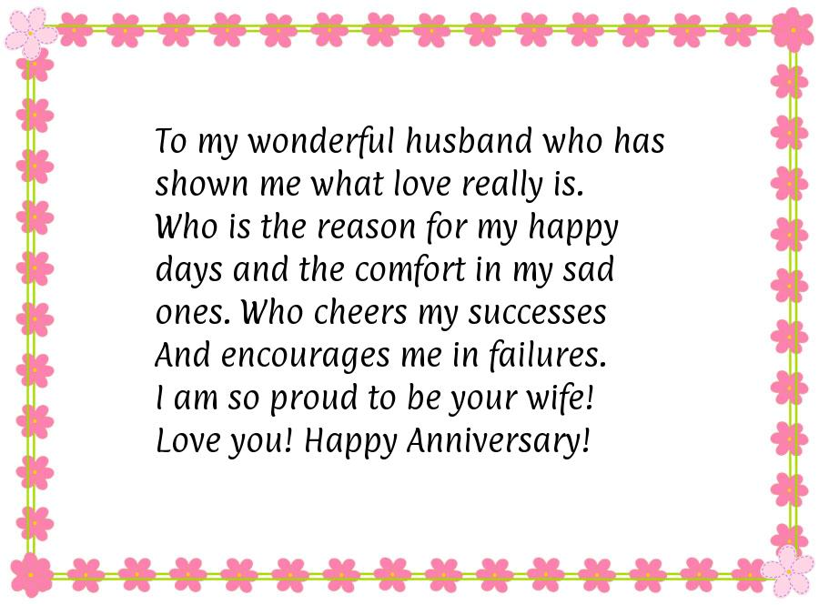 Anniversary Quotes For Husband Quotesgram