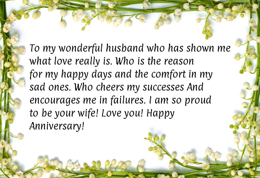 Happy anniversary message for husband wedding anniversary message to my husband m4hsunfo
