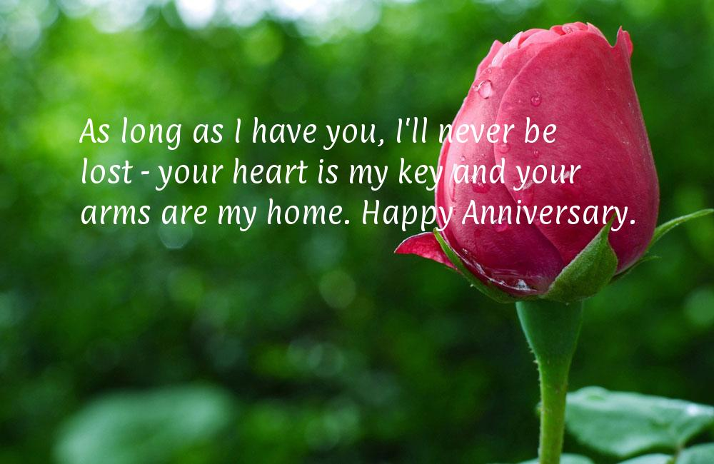 Romantic anniversary quotes for husband quotesgram