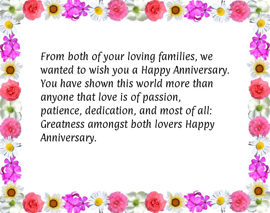 Anniversary wishes for sister