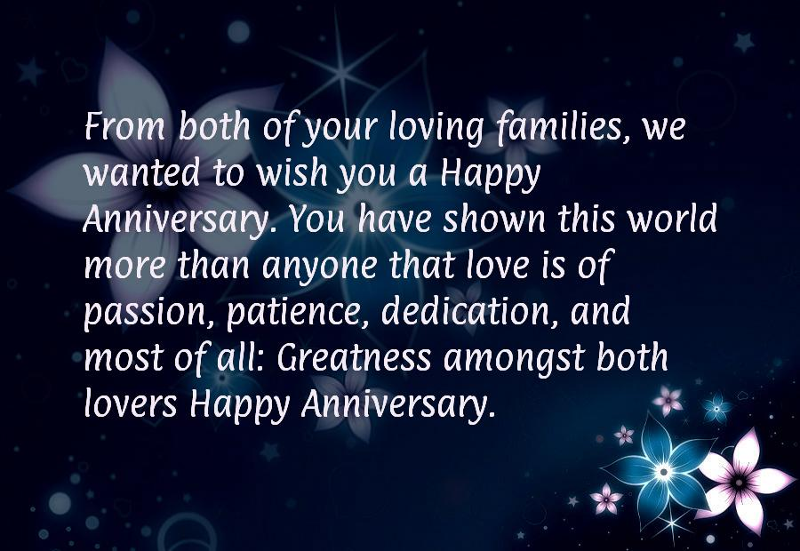 Belated anniversary wishes