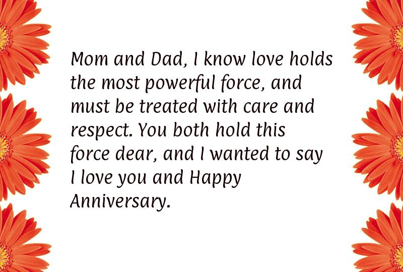 Parents anniversary quotes
