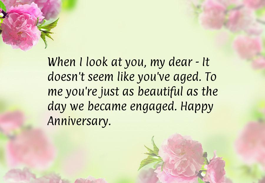 Wedding anniversary quote