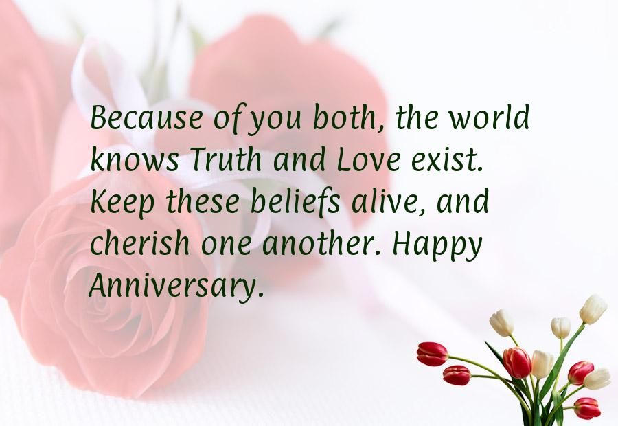 Anniversary wishes sms