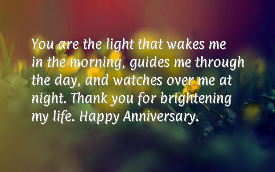 Wedding anniversary message for my husband