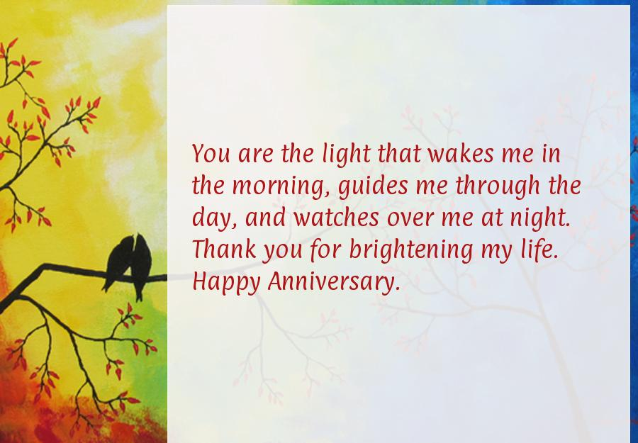 Anniversary messages to my husband