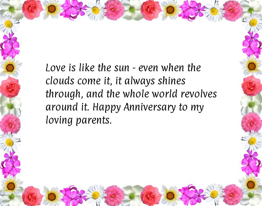 Wondrous Anniversary Quotes For Parents Valentine Love Quotes Grandhistoriesus