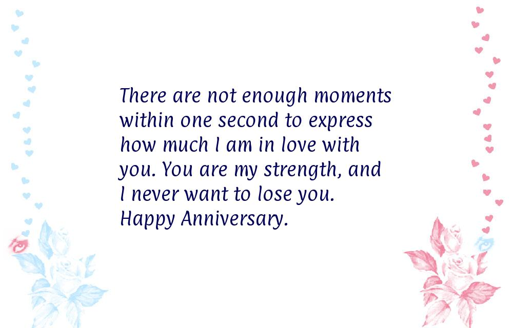 Happy anniversary messages for her