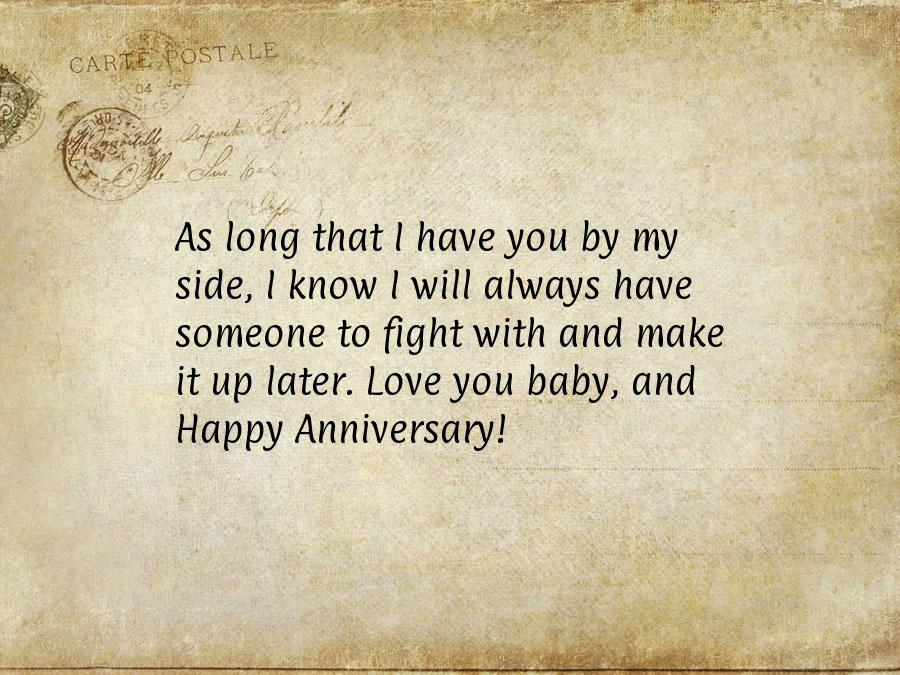 Anniversary card quotes