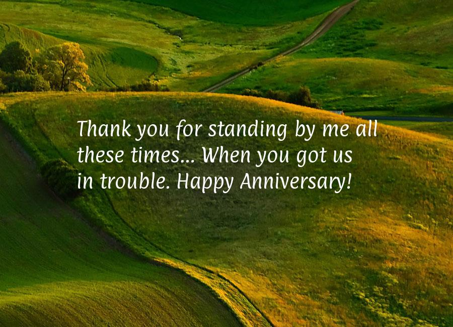 Happy anniversary love quotes