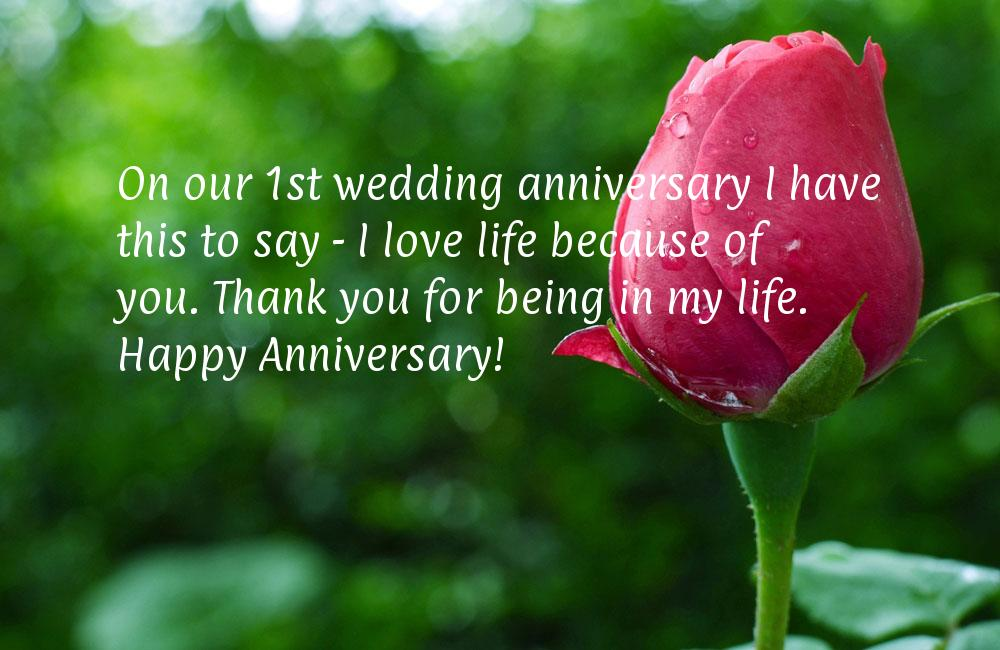 30 Splendid and Heart Touching Wedding Anniversary Wishes - FunPulp