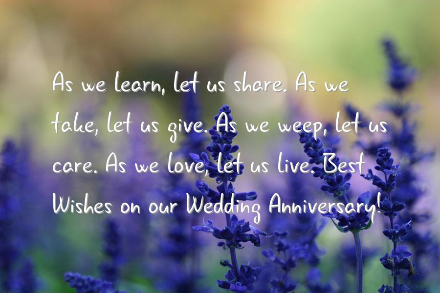 Quote for wedding anniversary