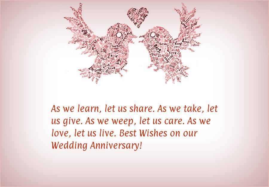 42nd Wedding Anniversary Quotes: 5 Year Wedding Anniversary Quotes. QuotesGram