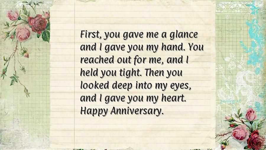 Engagement anniversary wishes