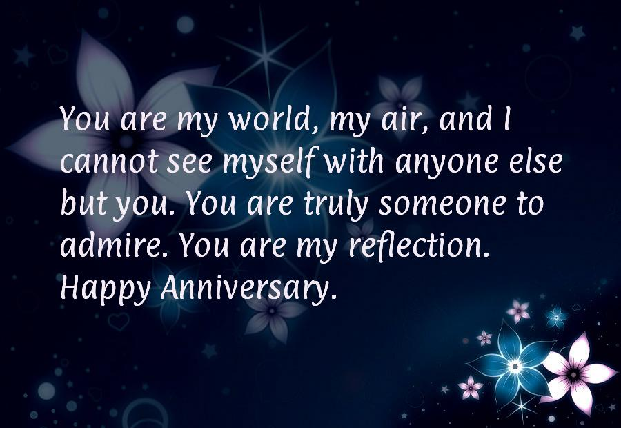 Anniversary words for wife
