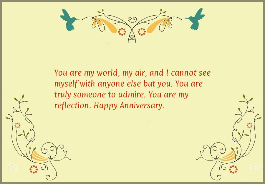 Happy anniversary message to wife