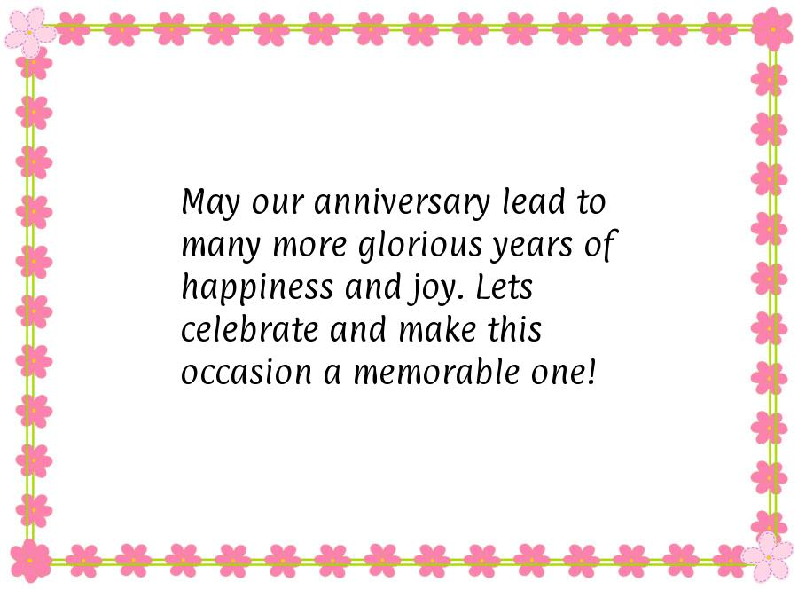Christian Wedding Anniversary Poems  Anniversary Card Wording