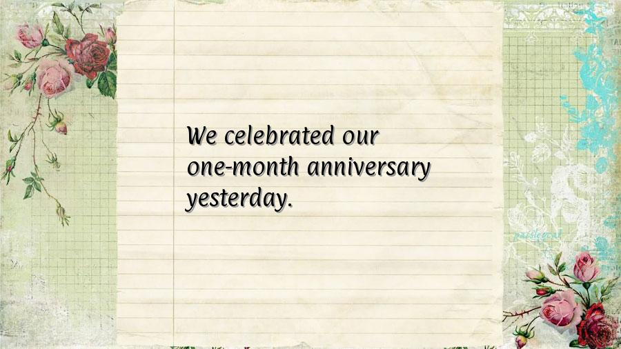 First wedding anniversary quotes quotesgram