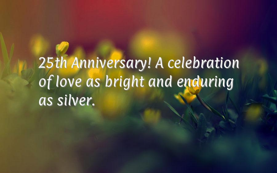 25 year wedding anniversary quotes