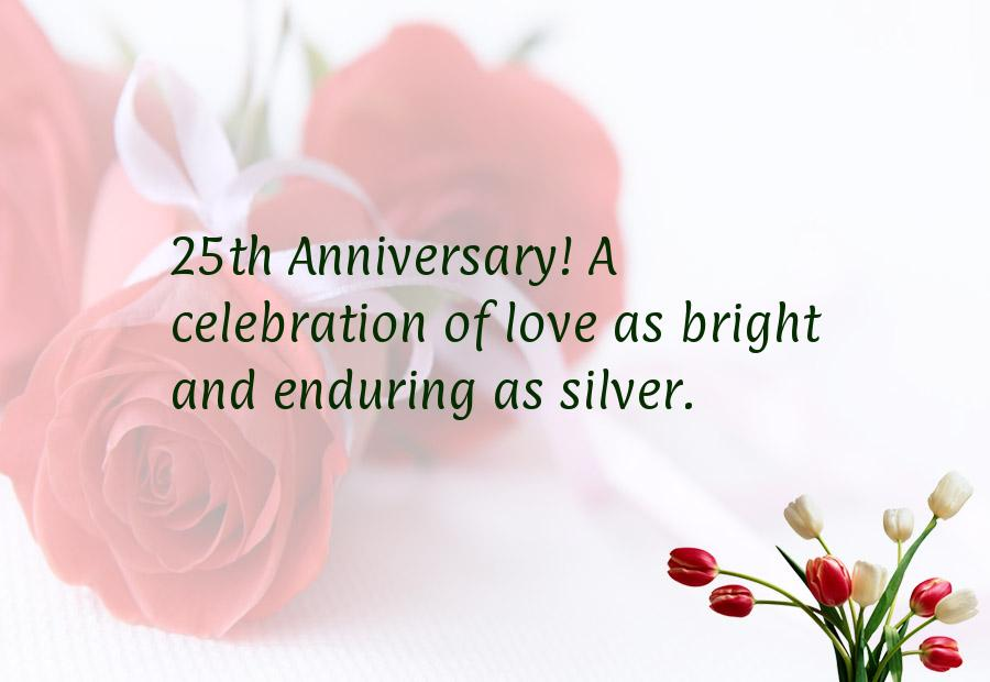 25th Wedding Anniversary Quotes From Children To Parents ...