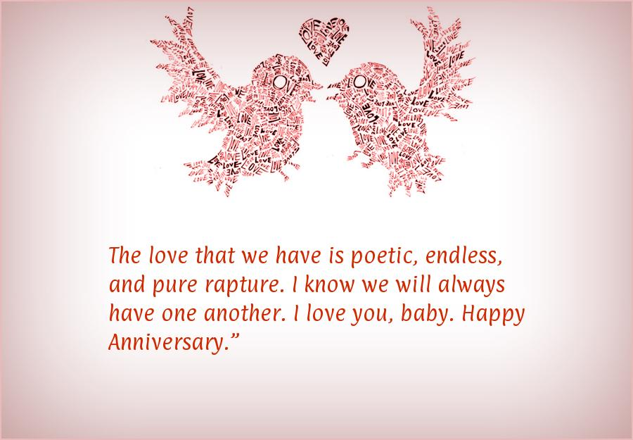 Anniversary messages for her