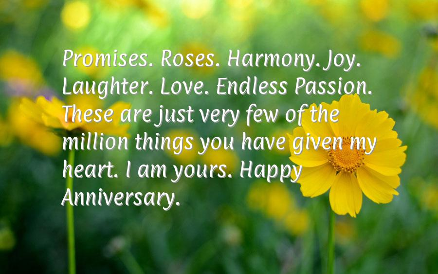 Happy anniversary wishes to husband