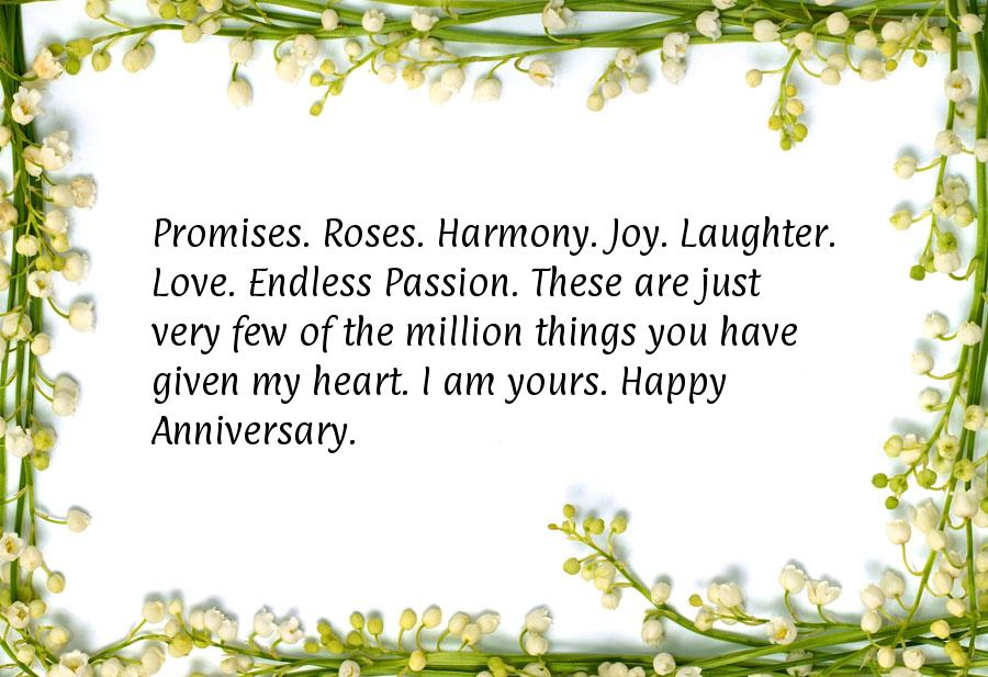 Cute anniversary quotes for him