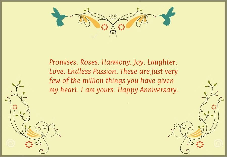 Wedding anniversary quotes for my husband