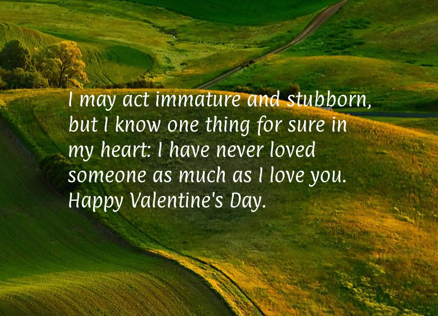 valentine quotes Valentines Day