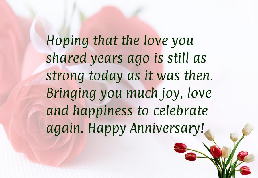 Happy Anniversary Quotes For Parents. QuotesGram
