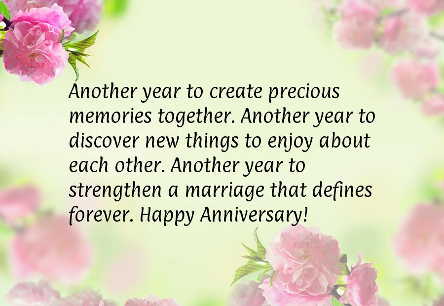 First Wedding Anniversary Wishes For Husband