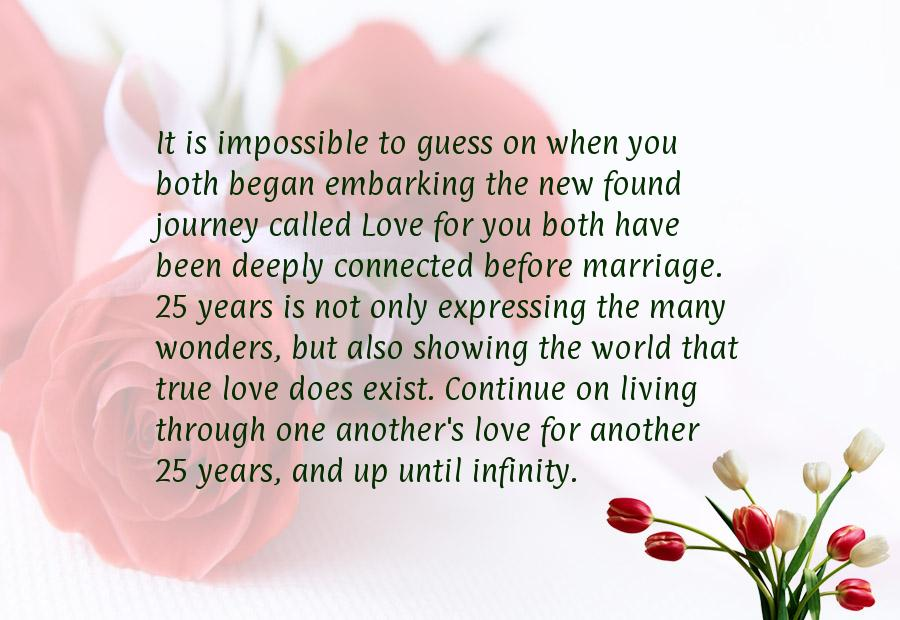 25 wedding anniversary quotes