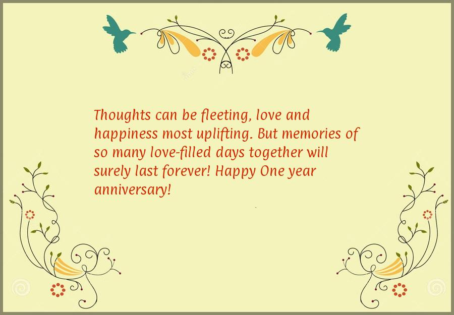 Anniversary wishes for couples