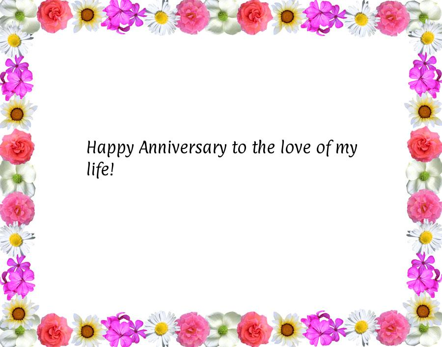 Marriage anniversary message to wife