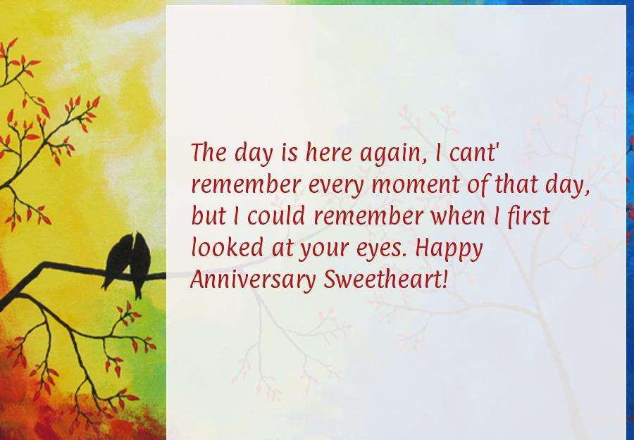 Wedding Anniversary Wishes To Wife From Husband