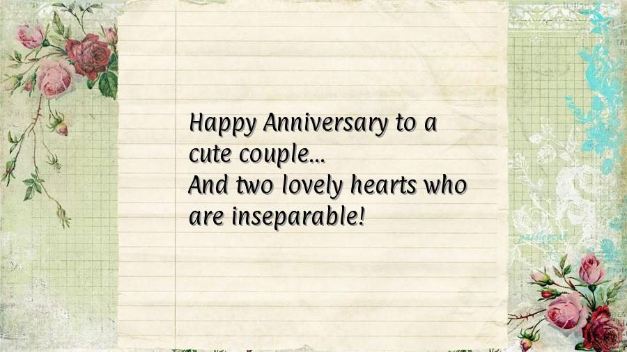 First anniversary wishes