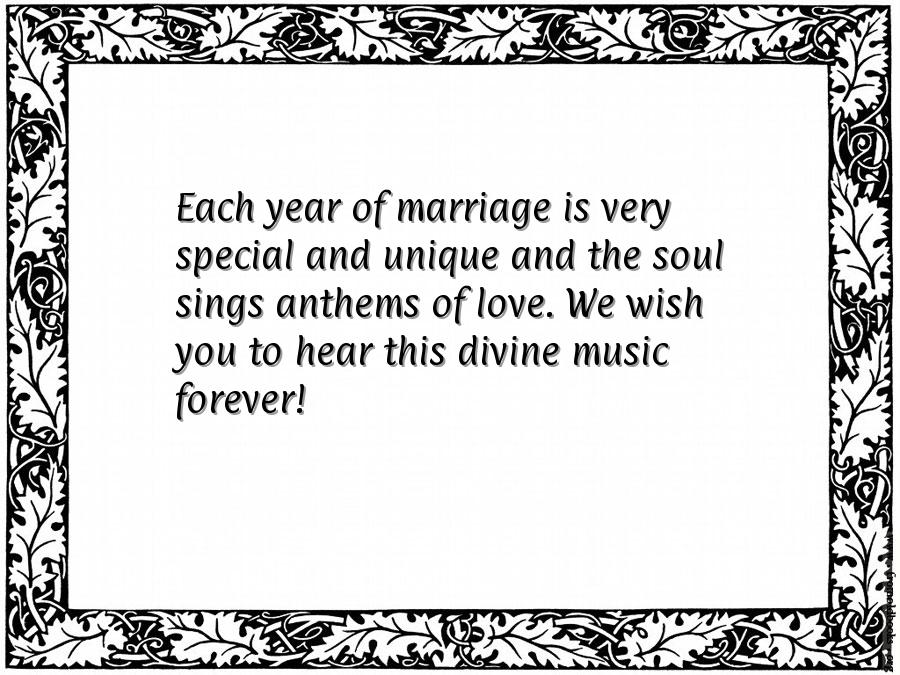 Marriage anniversary sms in english