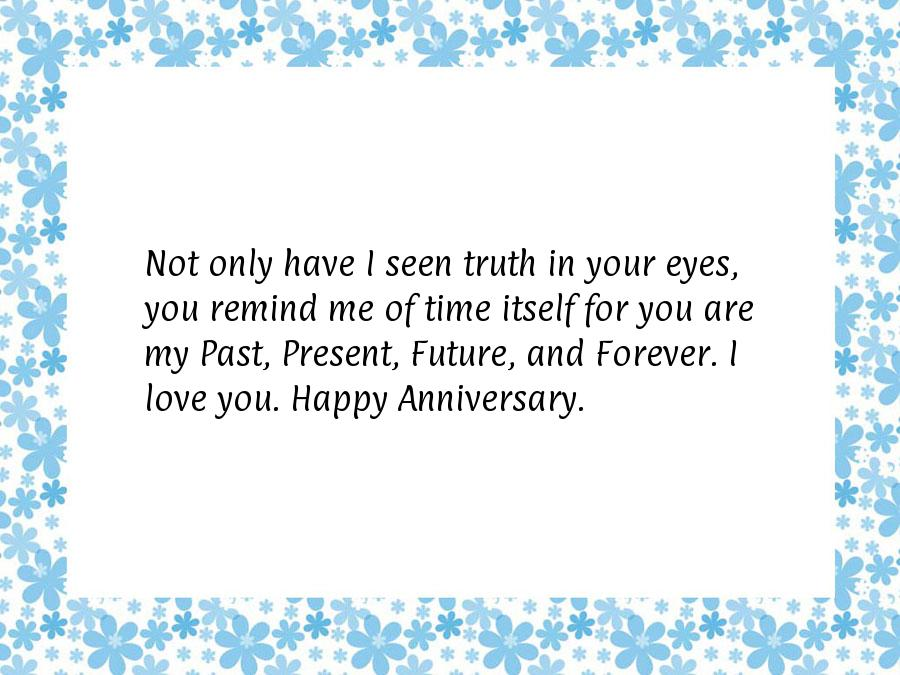Happy anniversary messages for him