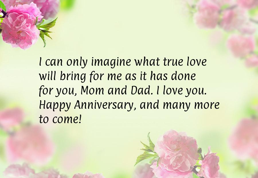 Th anniversary quotes for parents
