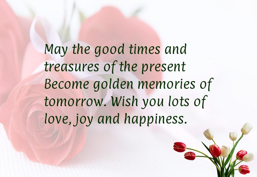 Good Wishes Quotes Brilliant 52 Happy Wedding Wishes For On A Card