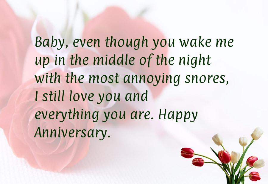 Funny anniversary quotes for husband quotesgram