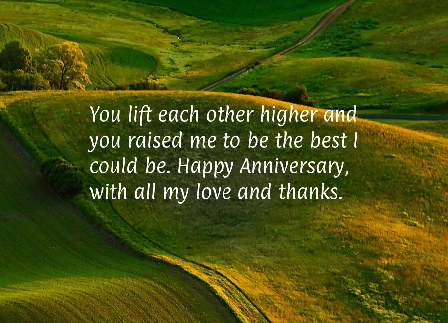 Parents wedding anniversary quotes