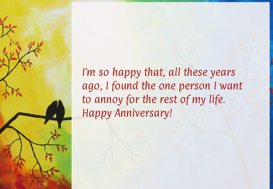 Funny Quotes On Love Anniversary : Funny Work Anniversary Quotes. QuotesGram
