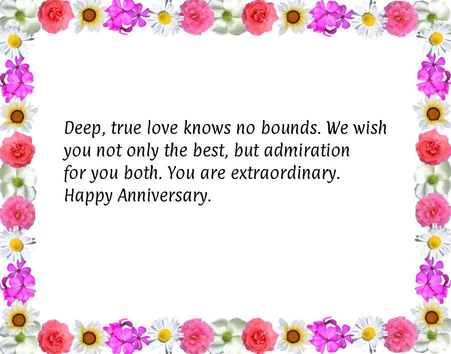 Deep love anniversary quotes