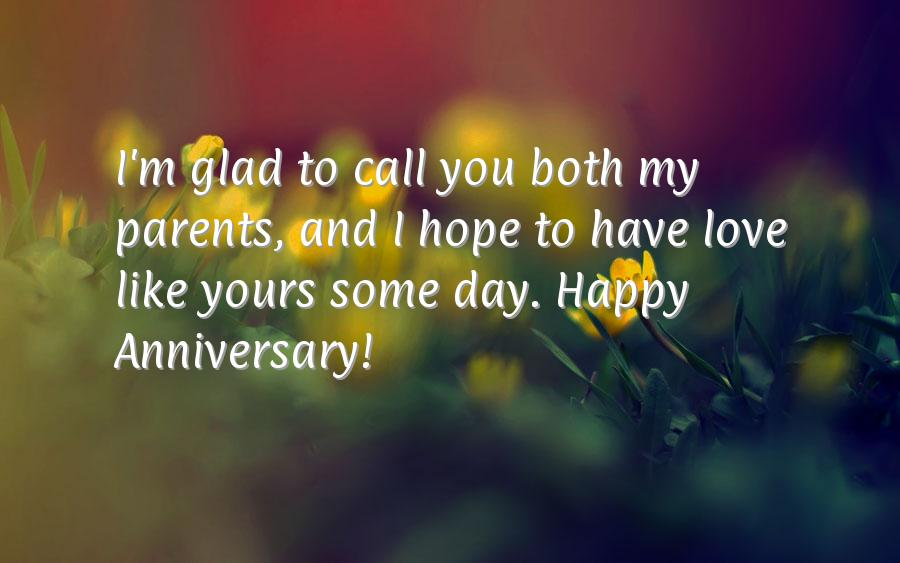 Anniversary cards for parents