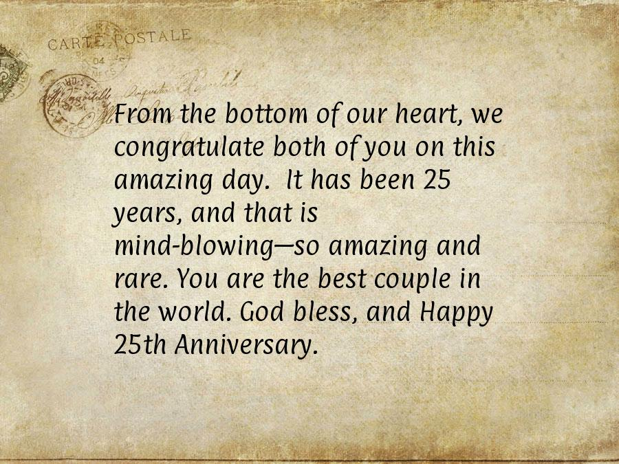 25th Wedding Anniversary Quotes Funny