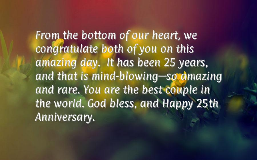 Quotes for 25th wedding anniversary